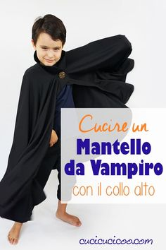 Learn how to make a vampire cape with a stand up collar! This easy cloak tutorial is perfect for any age or any size. A perfect DIY costume for Halloween! Kid Dracula, Dracula Cape, Fall Sewing, Sewing For Kids, Kids Cape Pattern, Vampire Cape, Dracula Costume, Diy Cape, Diy Halloween Costumes