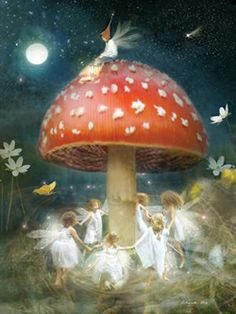 Elves Faeries Gnomes:  The #Faery Dance. Fairies are just tiny angels and I believe in Angels !