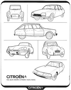 French all model advertisement from 1973 Viva Citroën Vive la difference!