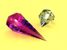 Maya - Crystals by Dycaite.deviantart.com on @deviantART