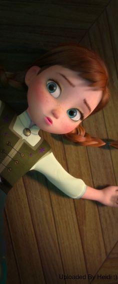 Cute little Anna