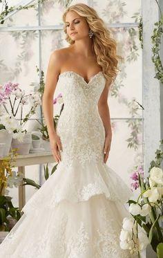 L113 Mermaid Wedding Dress, China Wedding Dress, Vestido De Novia Wedding Dresses