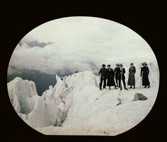 "holdthisphoto: "" Glaciers en Suisse, 1910 • by Henri Chouanard """