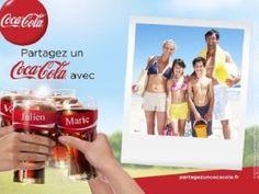 Après les canettes personnalisée, voici les cartes postales Coca Cola gratuites.