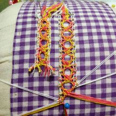 Needle Lace, Bobbin Lace, Lace Making, Diy And Crafts, Sewing, Crochet, Instagram Posts, How To Make, Image