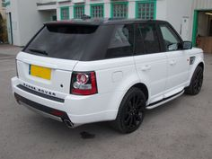 It was black! Now sporting a nice white exterior and newly sprayed Alloy's