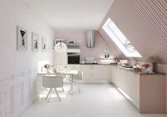 Kitchen / La cuisine en L - Marie Claire Maison