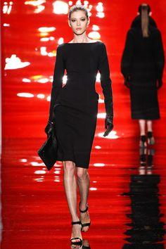 Reem Acra~ The perfect little black dress