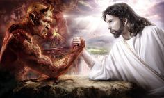 devil_vs_jesus_deviant art