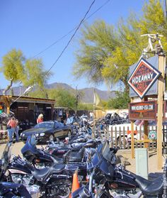How much attention would we get at the biker bar in Cave Creek??