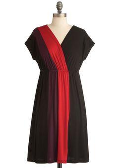 XL GUC Ray of Bright Dress in Black | Mod Retro Vintage Dresses | ModCloth.com