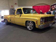 Chevy C10 dually