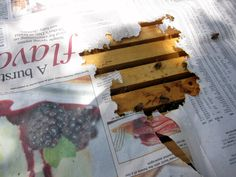 Combine Hives Using Newspaper