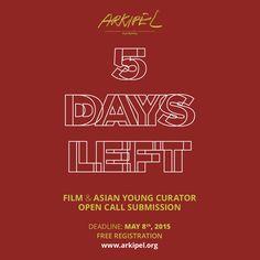 5 DAYS LEFT.  @ARKIPEL INTERNATIONAL DOCUMENTARY & EXPERIMENTAL FILM FESTIVAL online submission at www.arkipel.org  Free  #arkipel #grandillusion