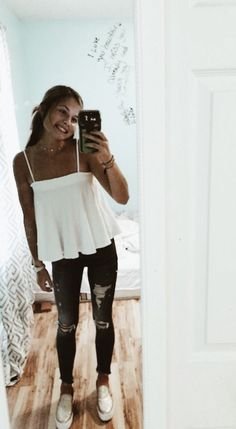 42 Best Fashion Teenage You Should Copy - Outfits for Woman - Modetrends Best Casual Outfits, Cute Summer Outfits, Spring Outfits, Cute Outfits, Casual Summer, Winter Outfits, Casual School Outfits, Prom Outfits, Black Outfits