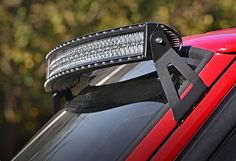 Upper Windshield Curved LED Light Bar Mounting Brackets for Jeep XJ Cherokee Maserati, Bugatti, Ferrari, Audi, Porsche, Jeep Xj Mods, Curved Led Light Bar, Led Light Bars, Jeep Cherokee Xj