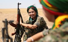 Last week, a day after the Russia and US-brokered agreement on a ceasefire in Syria was announced, the Syrian Kurds' main media outlet published an interview with an official from the Kurdish coalition governing northern Syria. The Kurds, the. America Washington, The Kurds, Female Fighter, Warrior Girl, Warrior Women, Female Soldier, Military Women, Freedom Fighters, Angelina Jolie
