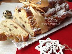 Vánočka - Víkendové pečení Camembert Cheese, Cheesecake, Dairy, Bread, Baking, Bakery Business, Cheesecakes, Brot, Bakken