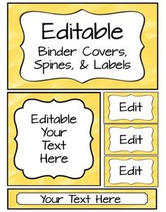 These editable pages match the Sunny Yellow Word Wall with editable banner and cards. Take a look here: Matching Word Wall I use these to label my classroom bins, folders, organizers, and for student names in pocket charts (lunch, helpers, etc). I print on full-sheet Avery labels, cardstock, an... Yellow Words, Pocket Charts, Look Here, Bee Theme, Binder Covers, Organizers, Card Stock, Banner, Label
