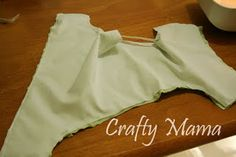 Good instructions for DIY cloth diaper cover - use for elastic portion.