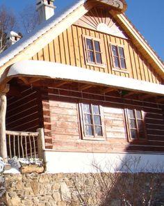 Podlesíčko - Vysočina - ČR Czech Republic, Cabin, House Styles, Home Decor, Decoration Home, Room Decor, Cabins, Cottage, Home Interior Design