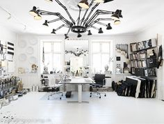 My future home office. Got to be organized.