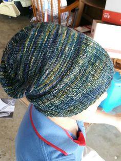 Sockhead Hat by Kelly McClure | malabrigo mechita in Ninfas