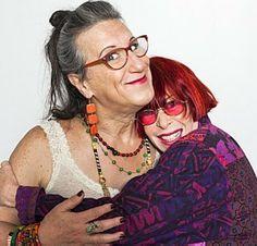 Laerte e Rita Lee - Renato Parada/Divulgação (Eu não sei quem é quem nessa foto)