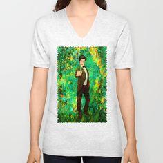 11th Doctor abstract art Unisex V-Neck @pointsalestore @society6thresecond #tshirt #vneck #Painting #Digital #Oil #Acrylic #Streetart #Abstract #Tardis #Doctorwho #Doctor #who #Mattsmith #11thdoctor #Scifi #Vangogh #Starrynight #Dalek #Cyberman #Geek #Whovian #Green #Fullcolor #Fanart