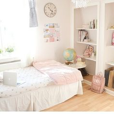 Room. Replace all the pink things with grey or blue and I would like this very much - Talon