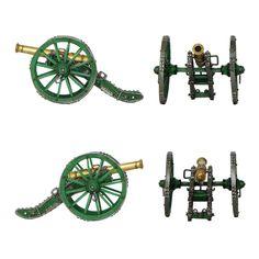 """Cañón Gribeauval de 12 libras (Colección """"French Artillery"""" editada por """"The Collectors Showcase"""" - 54 mm)"""