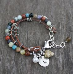Sundance Style Bracelet with charms.. So unrealistic for me; I'd never do it, but just in case I have time to learn sometime....!