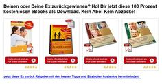 Den / die Ex zurückgewinnen? 4 PDF eBook's kostenlos als Download