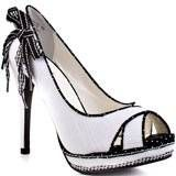 #Not Rated's Multi-Color Strawberry Fields - Blk White for 44.99 direct from heels.com