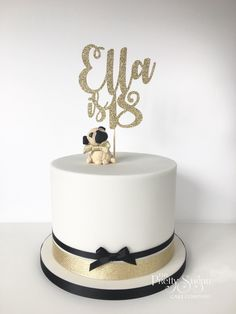 Awesome Photo of Cakes For Birthday . Cakes For Birthday Pug Birthday Cake Just Cake Birthday Cake Pug Birthday Modern Birthday Cakes, 26 Birthday Cake, 18th Birthday Cake For Girls, Beautiful Birthday Cakes, Adult Birthday Cakes, Birthday Wishes, Pug Cake, 18th Cake, Luxury Cake