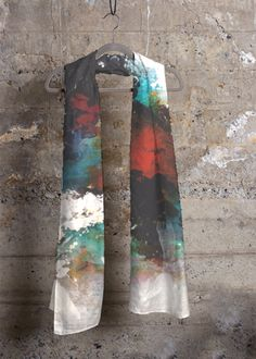 Cashmere Silk Scarf - Sunrises by VIDA VIDA Nm6oMNHH
