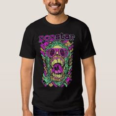 (Popstar Face T-Shirt) #Spooky #Artsprojekt #Bottles #Cars #Crossbones #Demons #Fantasy #Ghosts #Ghouls #Halloween #Haunted #Heavy #Hip #Hop #Jesters #Jokers #Metal #Monsters #Motorcycle #Mummies #Nuclear #Pirates #Pop #Pumpkin #Punk #Rap #Rock #Roger #Roll #Scary #Skeletons #Skulls #Spiders #Star #Tags #Tombstone #Winged #Witches #Zombie #Zombies is available on Funny T-shirts Clothing Store   http://ift.tt/2e0FDU2