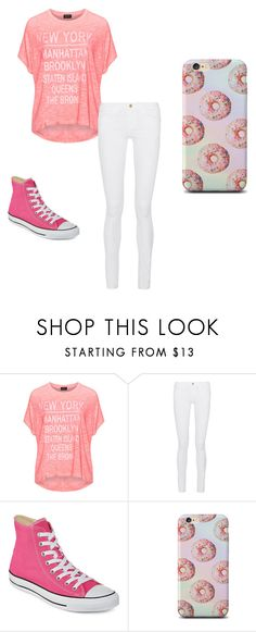 """""""Untitled #48"""" by janessa-134 ❤ liked on Polyvore featuring Replace, Frame Denim and Converse"""
