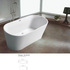 modern freestanding bathroom bathtub - $760.00