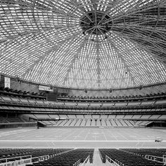 Inside the Astrodome in the 1960s