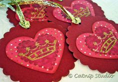 Heart & Crown gift tags