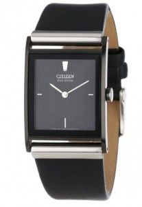 Citizen Men's BL6005-01E Stainless Steel Watch with Leather Band