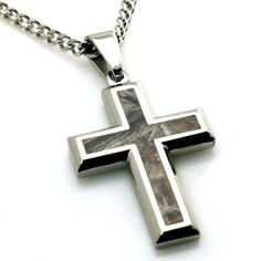 Stainless Steel Forest Tree Camouflage Cross Pendant * Click image for more details.(This is an Amazon affiliate link)