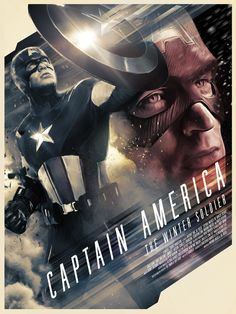 Captain America: The Winter Soldier - movie poster - Richard Davies