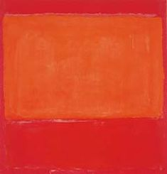 Mark Rothko - Orange and Red on Red