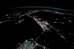 Night Lights of the Levant : Image of the Day : NASA Earth Observatory