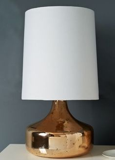 rose gold perch table lamp  http://rstyle.me/n/wnxy2pdpe