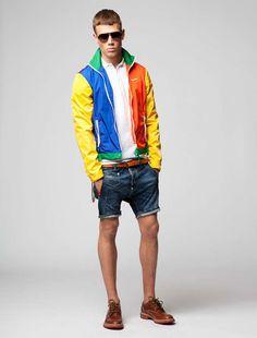 Dsquared2 Menswear Resort 2012 | F.TAPE | Fashion Directory