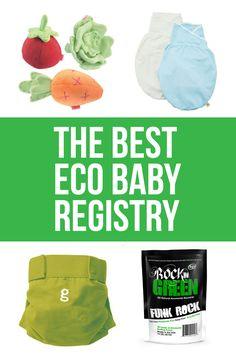 The best Eco Baby Registry
