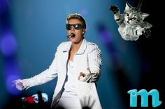 Incoming, Justin Bieber!